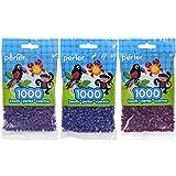 Perler Bead Bag 1000, 3-Pack - Grape, Iris and Eggplant (Color: Grape, Iris & Eggplant)