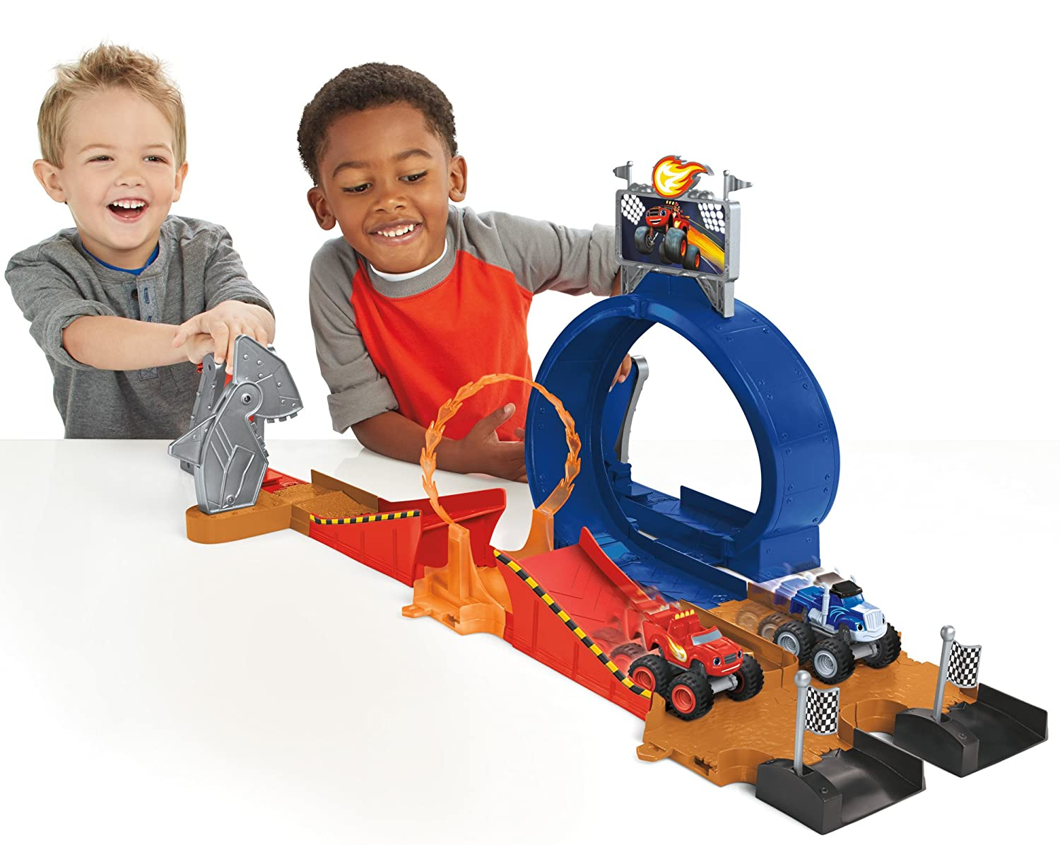 Fisher-Price Nickelodeon Blaze and the Monster Machines Monster Dome Playset