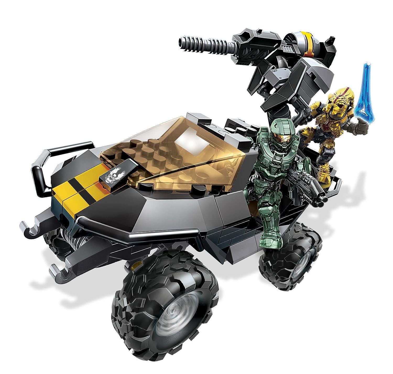 Mattel Mega Bloks CNG66 – Halo – UNSC Attack Gausshog, Bau- und Konstruktionsspielzeug als Geschenk