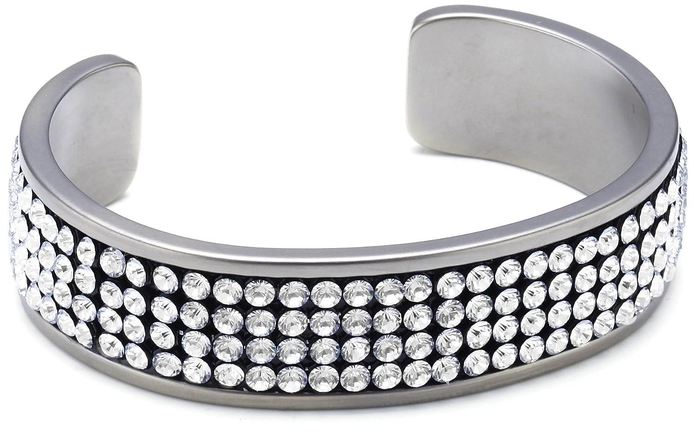 Pure Grey Damen Armreif Titan ( Swarovski/Crystal ) Made in Germany Nr. 11391 günstig kaufen