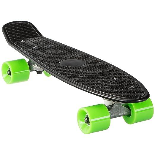 Ultrasport Mini Cruiser - 55 cm, Mini skateboard pour la pratique en ville et dans les parcs