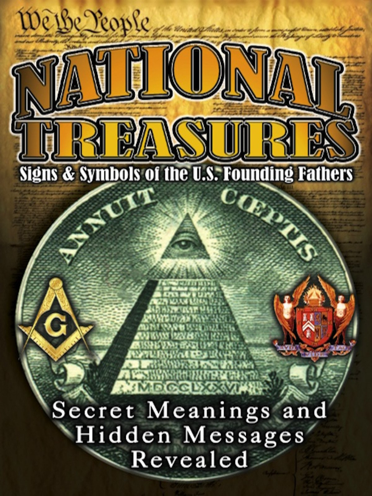 National Treasures - Secret Signs & Symbols of the U.S. Founding Fathers on Amazon Prime Instant Video UK