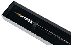 da Vinci Watercolor Series 35 Maestro Paint Brush, Round Long Taper Kolinsky Red Sable with Gift Box, Size 6 (Tamaño: Size 6)