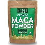 Organic Maca Powder (Raw) - 16oz Resealable Bag (1lb) - 100% Raw From Peru - by Feel Good Organics (Tamaño: 16 Ounce Value Size (453g))