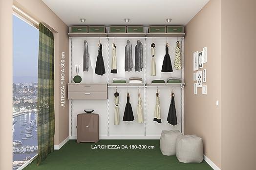 Cabina armadio di qualità prodotta su misura