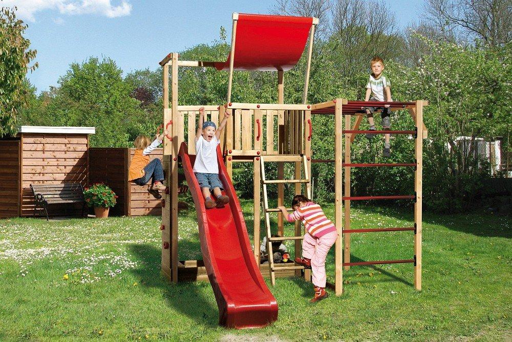 Weka Kinderspielturm Pinto 2 inkl. Rutsche