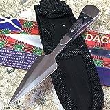 Belt / Bosom Hunting Eco'Gift Knife With Sharp Blade Dagger Small Lightweight Self Defense NEW 203235 zix2