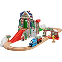 Fisher-Price Thomas The Train Wooden Railway Santas Workshop Express