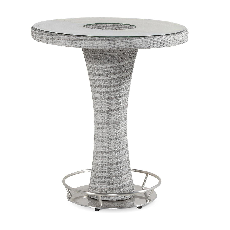 Hartman Montego Bartisch rund Polyrattan/Glas royal grey flat ø 95 cm 72267099 bestellen
