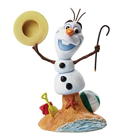 ENESCO Disney Buste Résine 15cm OLAF de La reine des Neiges / Frozen Grand Jester Collection Figurine