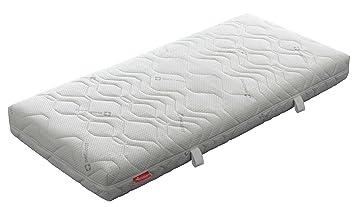 Badenia Bettcomfort 03887820143 Kaltschaummatratze mit Noppenauflage Trendline BT 310 H3 140 x 200 cm weiß