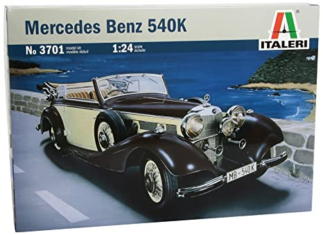 Italeri - I3701 - Maquette - Voiture et Camion - Mercedes 540 K - Echelle 1:24