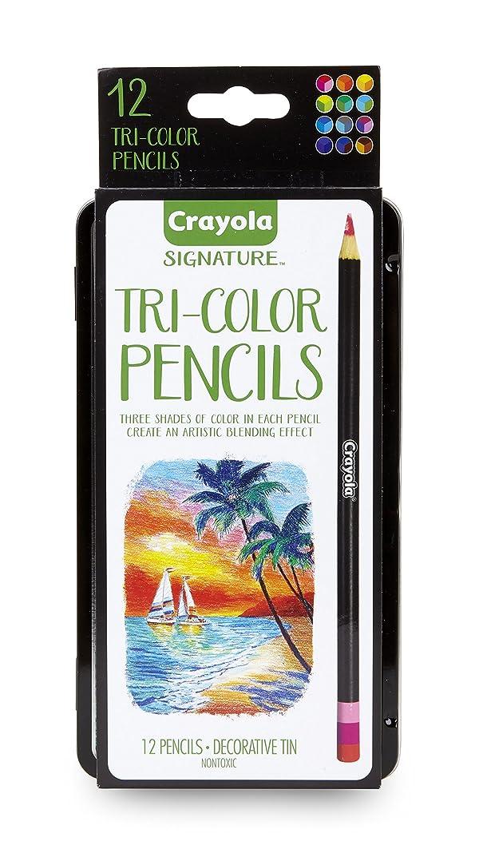Crayola Tri-Color Pencils w/Tin