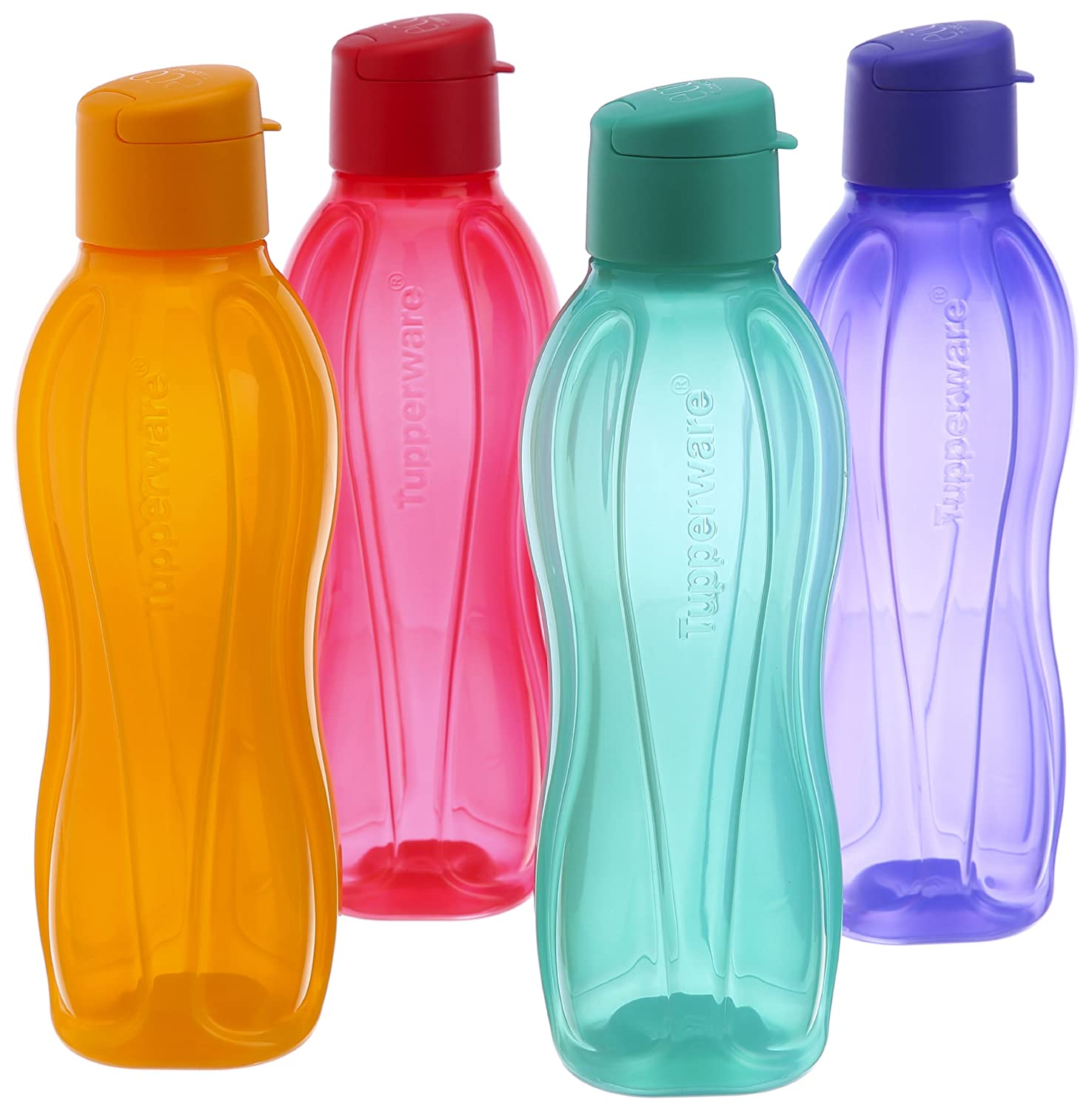 Water Bottle Set: Buy A Set Of 4 Tupperware Flip Top Water Bottle At Rs 785