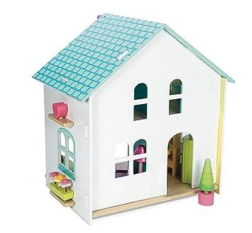 Le Toy Van H171 Maison aux Tuiles Meublée Jouet
