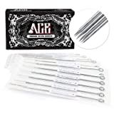 ACE Needles 50 pcs. 11 Round Shader Pre-made Sterile Tattoo Needles - 11RS