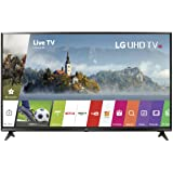 LG Electronics 55UJ6300 55-Inch 4K Ultra HD Smart LED TV (2017 Model) (Color: BLACK, Tamaño: 55 inches)