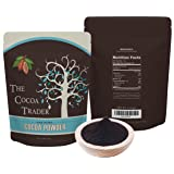 Black Cocoa Powder for Baking- All Natural Alkalized Unsweetened Cocoa for Coloring Agent in Baked Goods - Dutch Processed With Smooth Mellow Flavor - 1 LB, The Cocoa Trader (Tamaño: 16 Ounces)