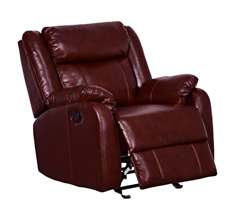 Global Furniture Glider Recliner, Burgundy