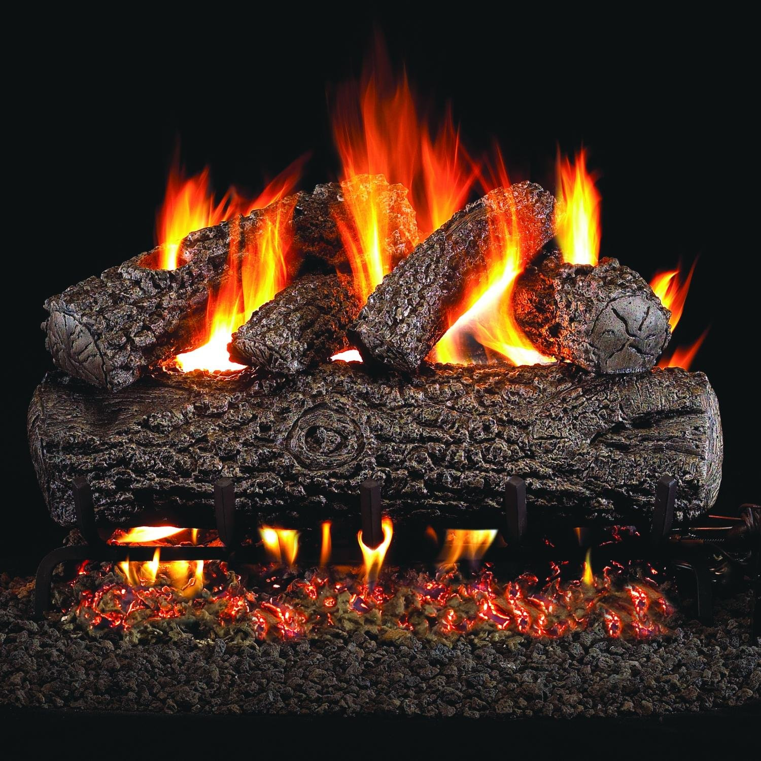 Peterson Gas Log Fireplace Sets 1500 x 1500