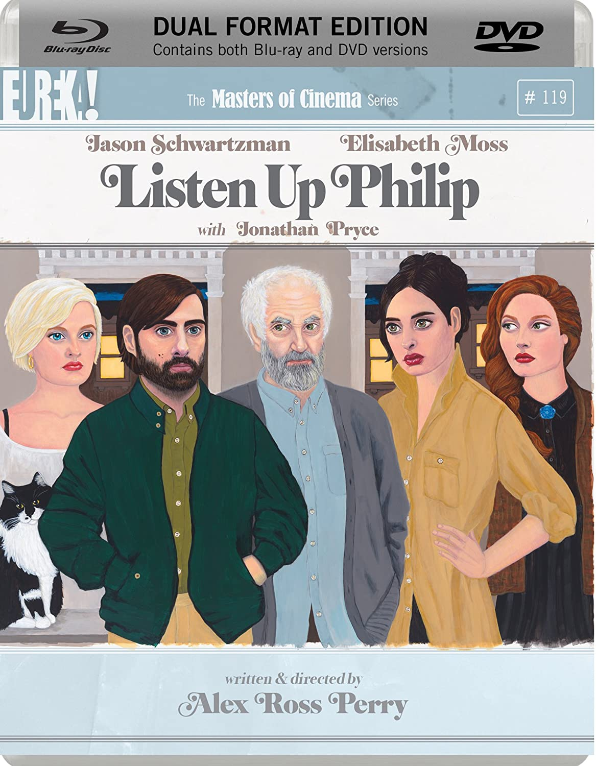 Listen Up Philip on DVD and Blu Ray