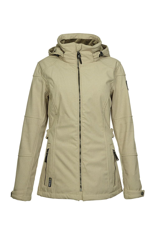 G.I.G.A. DX – Damen Casual Soft Shell Jacke mit abknöpfbarer Kapuze, H/W 15, Nariana 27317 günstig online kaufen