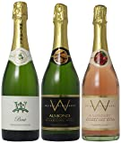 Weibel Family Fruity and Nutty Sparkling Selections Mixed Pack, 3 x 750 mL