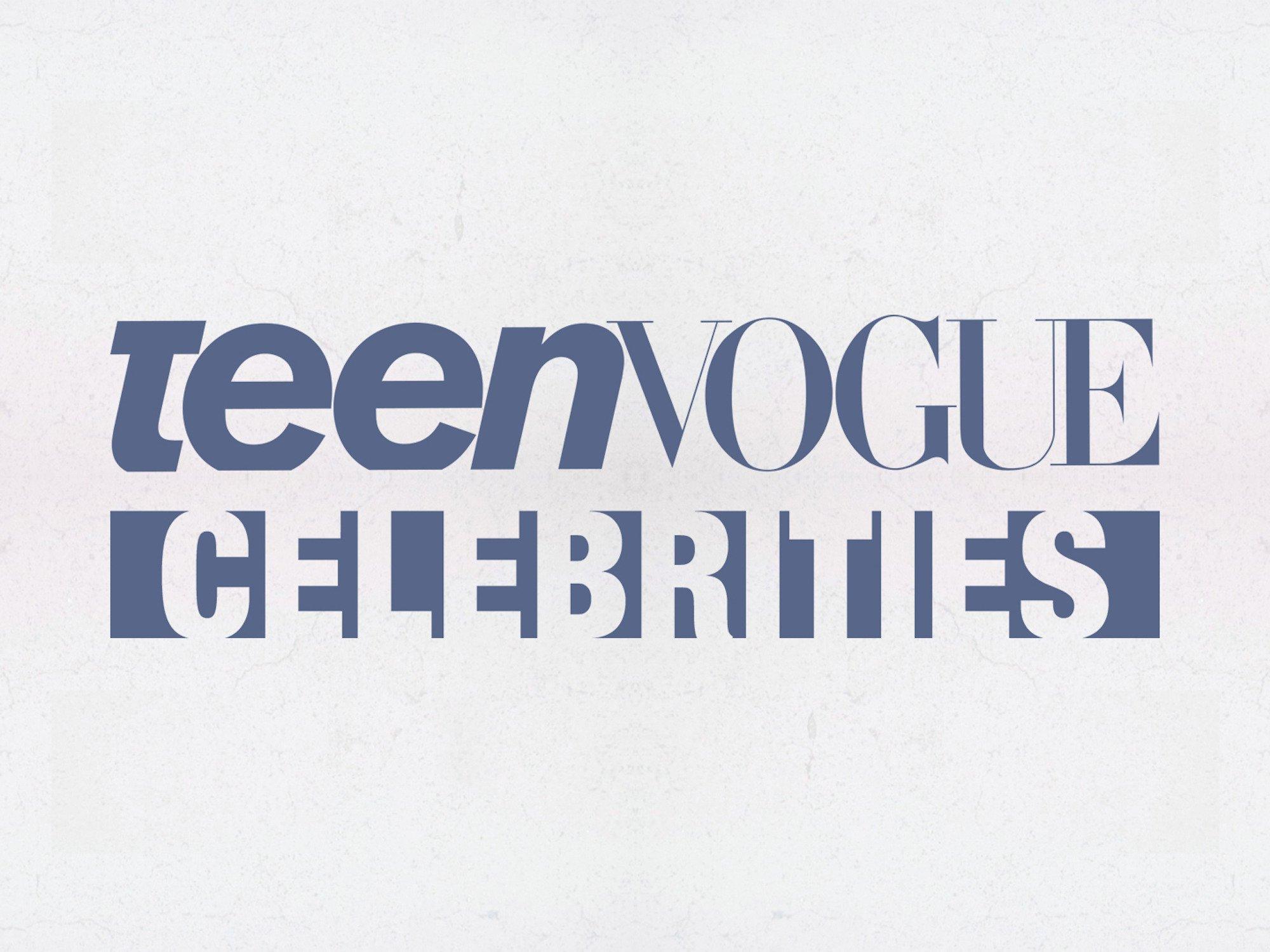 Teen Vogue Celebrities on Amazon Prime Video UK