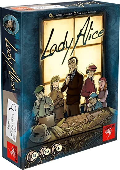 Swissgames - LAD01 - Jeu de Stratégie - Lady Alice