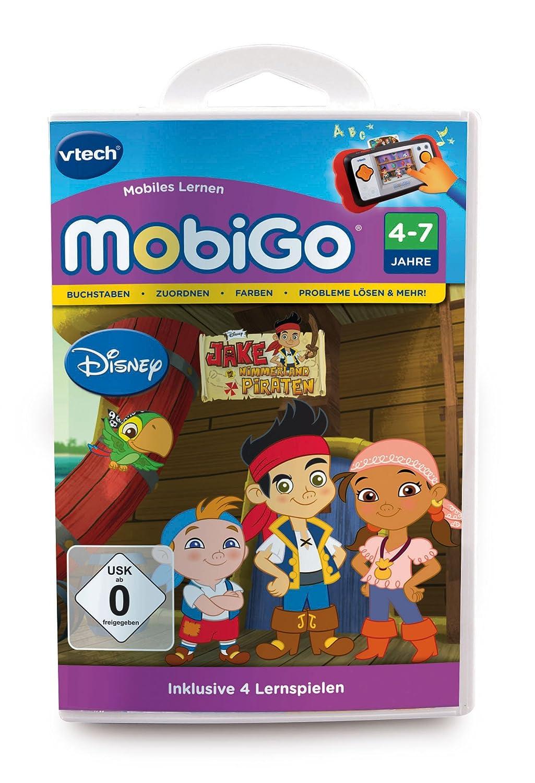 VTech 80-252804 – MobiGo Lernspiel, Jake und die Nimmerland Piraten günstig online kaufen