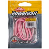 PowerBait Power Floating Trout Worm (Color: Pink Shad, Tamaño: 1-Pack)