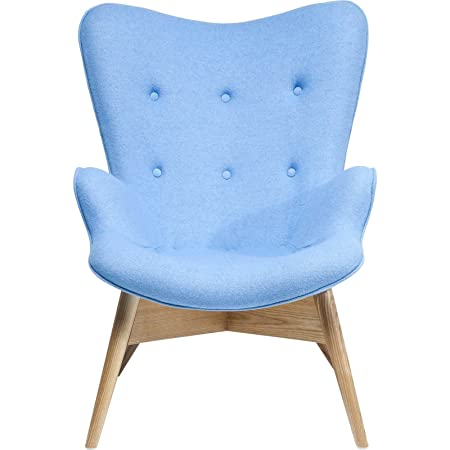 Fauteuil Retro Angels Wings bleu eco Kare Design