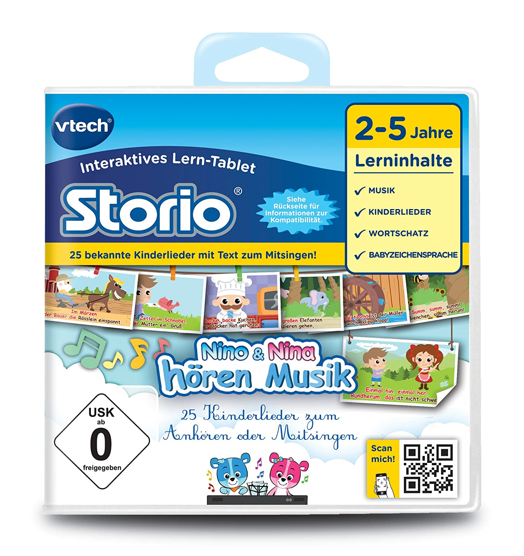 VTech 80-233304 – Lernspiel Nino und Nina hören Musik (Storio 2, Storio 3S) jetzt kaufen