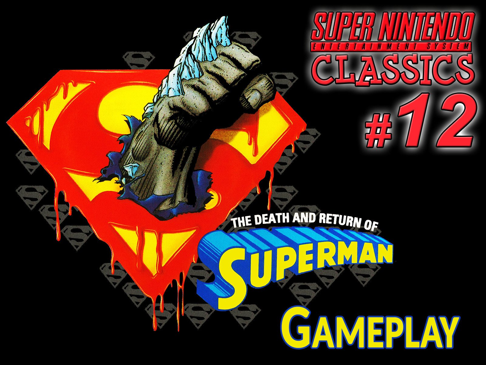 Clip: Death and Return of Superman Gameplay (SNES Classics 12) - Season 1