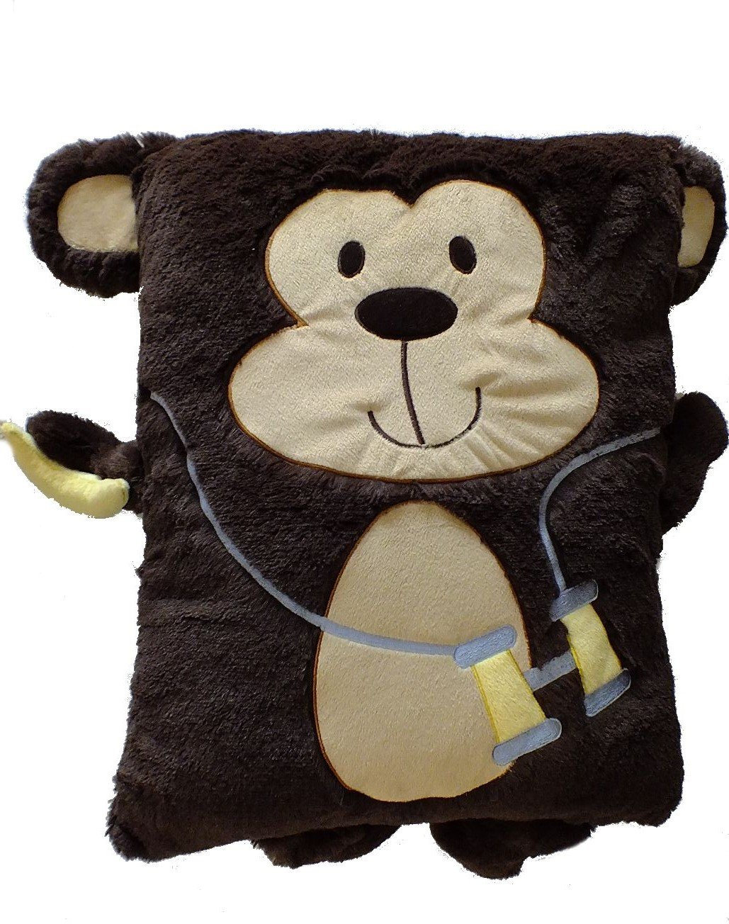 Monkey Blankets and Pillows - Totally Kids, Totally Bedrooms - Kids Bedroom Ideas