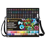 Chameleon Art Products, 52-Pen Complete Set (5 Units) (Tamaño: 5 UNITS)