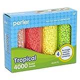 Perler Tropical Bead Storage Container Set, 4004 pcs (Tamaño: 4004 pcs)