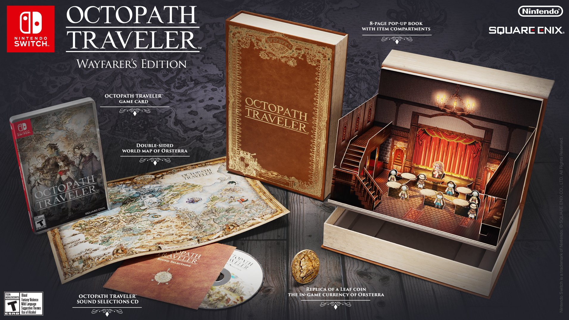 Buy Octopath Traveler Wayfarer Now!