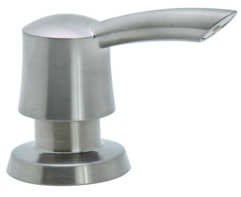 Premier Faucet 284457 Soap Dispenser, 17.5-Ounce, Brushed Nickel
