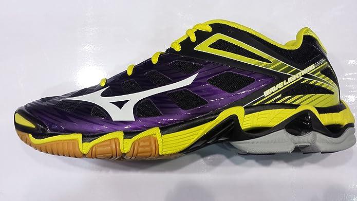 mizuno purple volleyball shoes
