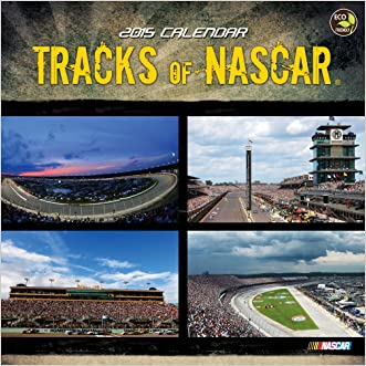 2015 Tracks of NASCAR Wall Calendar