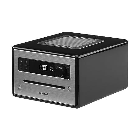 Sonoro 2100-100 sonoroCD Radio Bluetooth/CD/USB/FM/DAB+ Noir