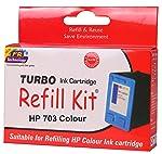 TURBO INK CARTRIDGE REFILL KIT 703
