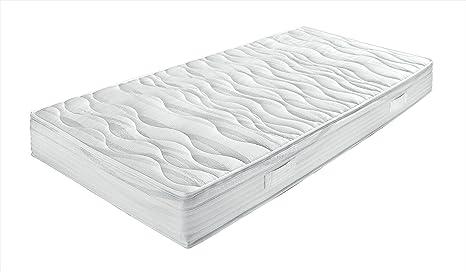 Breckle SilverGel® 4000 Taschenfederkernmatratze mit hochwertigen Gelauflagen und 7-Zonen Schnitt - Grösse 90x200