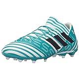 adidas Men's Nemeziz Messi 17.3 FG Soccer Shoe, White/Legend Ink/Energy Blue, 8.5 Medium US (Color: White/Legend Ink/Energy Blue, Tamaño: 8.5 D(M) US)