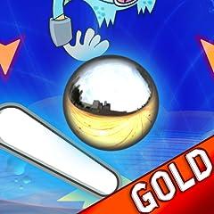Flipper Manie unendlich: das h�rteste Arcade-Silber Kugel Sprung - Gold Edition