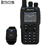 AnyTone AT-D878UV Plus Bluetooth W/GPS. Free Programming Cable, 3100mAh Battery, AnyTone Course on BridgeCom University ($50 Value), and BridgeCom Support.