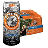 Sportsman Vanilla Protein Shake, 11 Ounce Cans (Case of 12) for Hunters