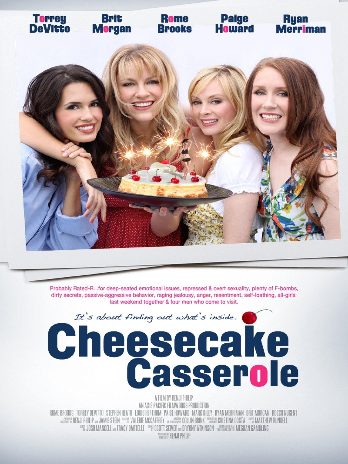 Cheesecake Casserole on Amazon Prime Video UK