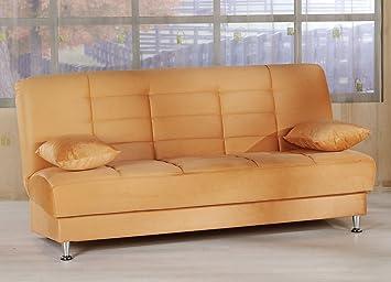Vegas Sofa Sleeper - Rainbow Light Orange